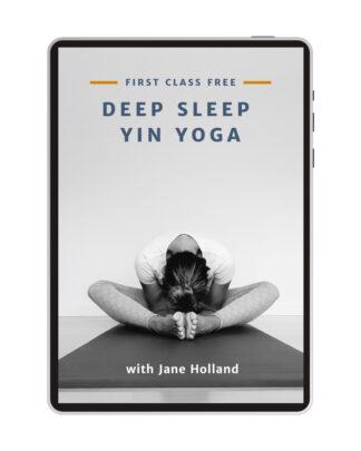 Jane Holland Deep Sleep Yin Yoga