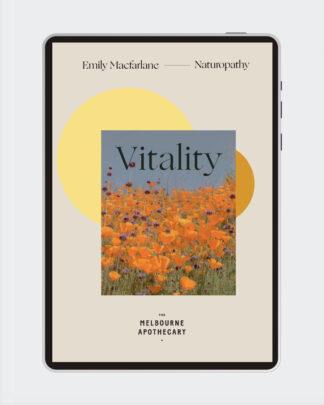 Vitality Ebook with Emily Macfarlane